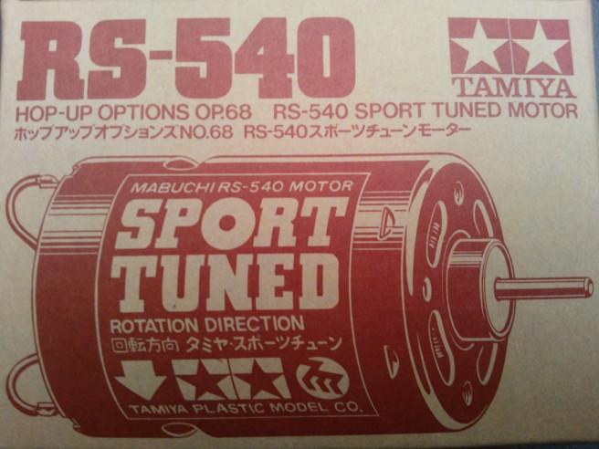Tamiya sport tuned motor