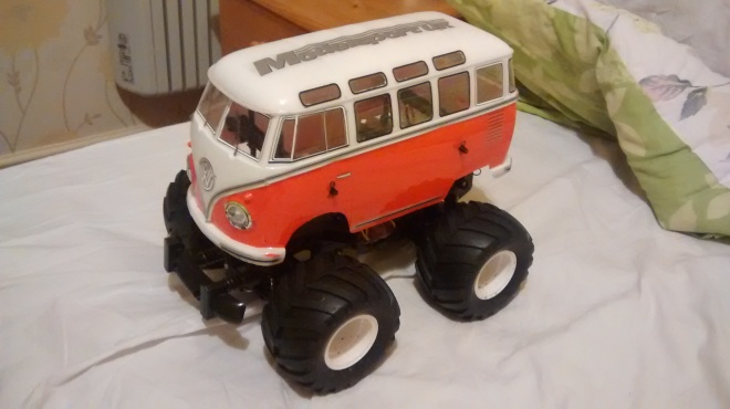 Volkswagen Wheelie camper complete