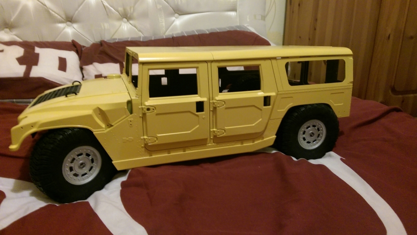 Hummer build progress
