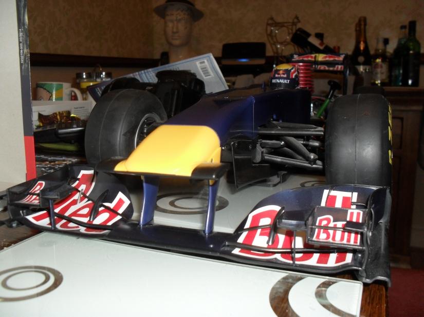 Red Bull 7 Preparing theBodyshell