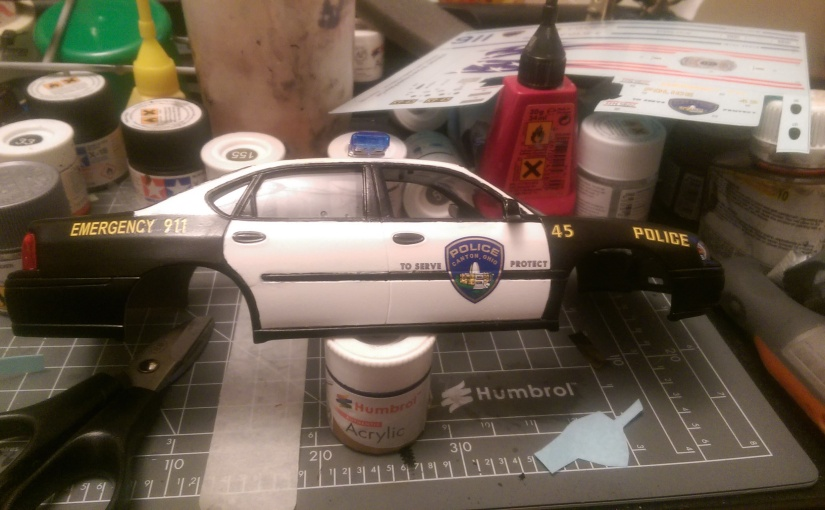 Chevy Impala Police Car Part 3