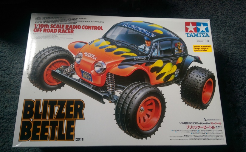 Tamiya Blitzer Beetle Build 1:10