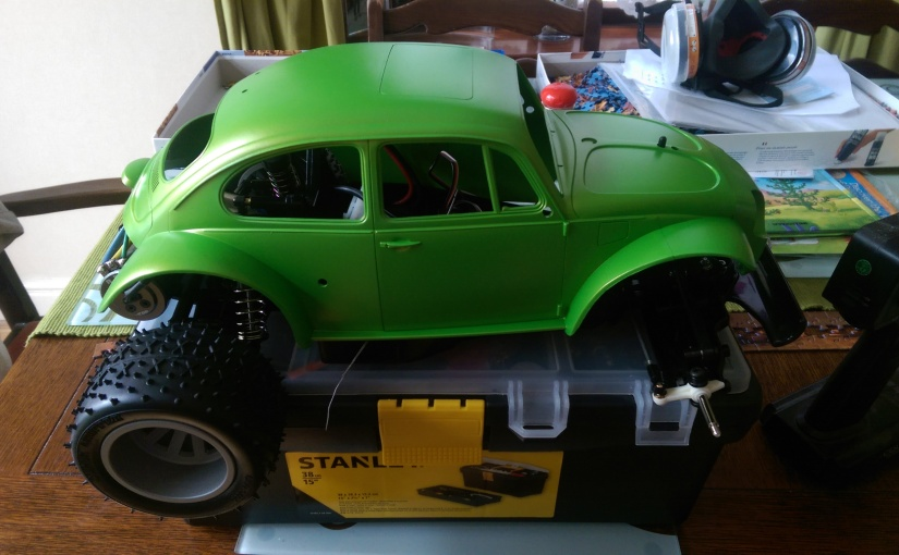 Blitzer Beetle Chassis and Motor