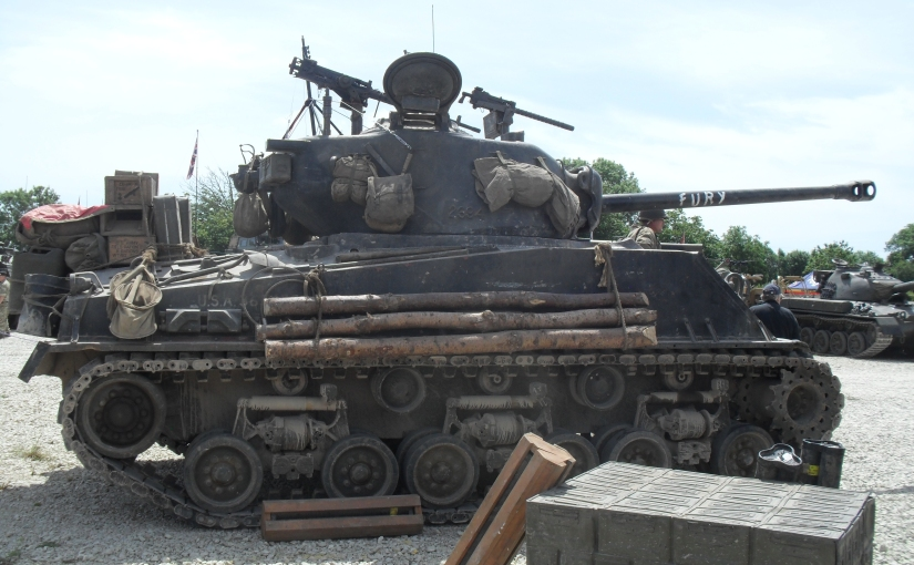 Got A Nice Photo Of The Star Of Fury At TankFest