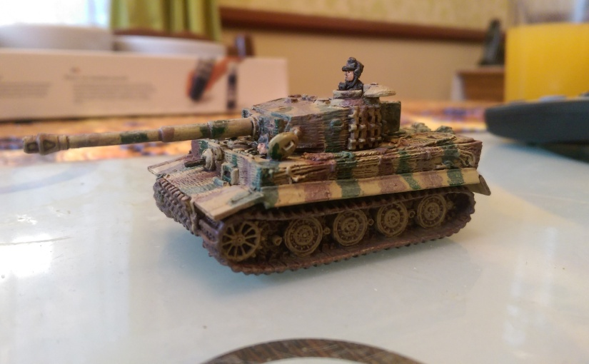 Flames of War Tiger Tank