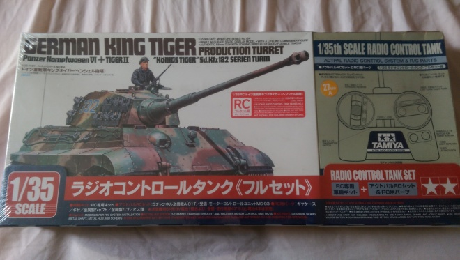 Tamiya RC King Tiger build 1:35 - Military Members Build
