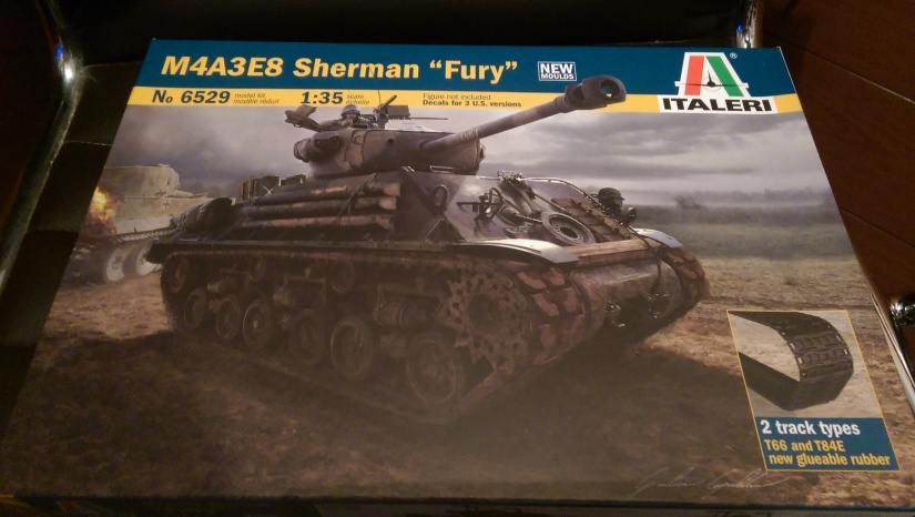 "M4A3E8 Sherman ""Easy Eight"" ""Fury"""