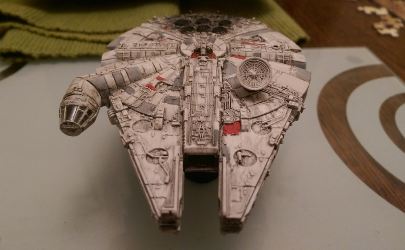Revell 1:241 Millennium Falcon Part 2