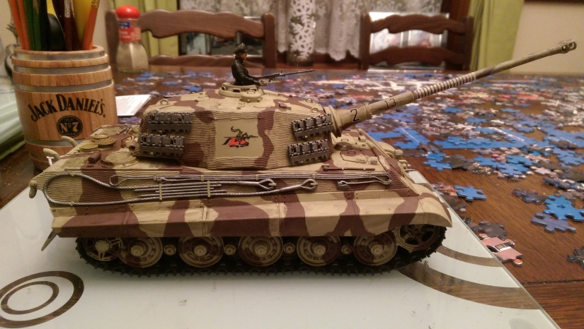 Tamiya 1:35 King Tiger Radio Control Part 4