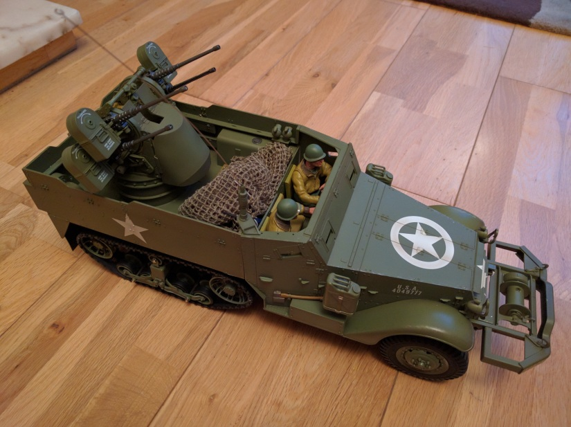 Torro m16 Half Track upgraded with elmod