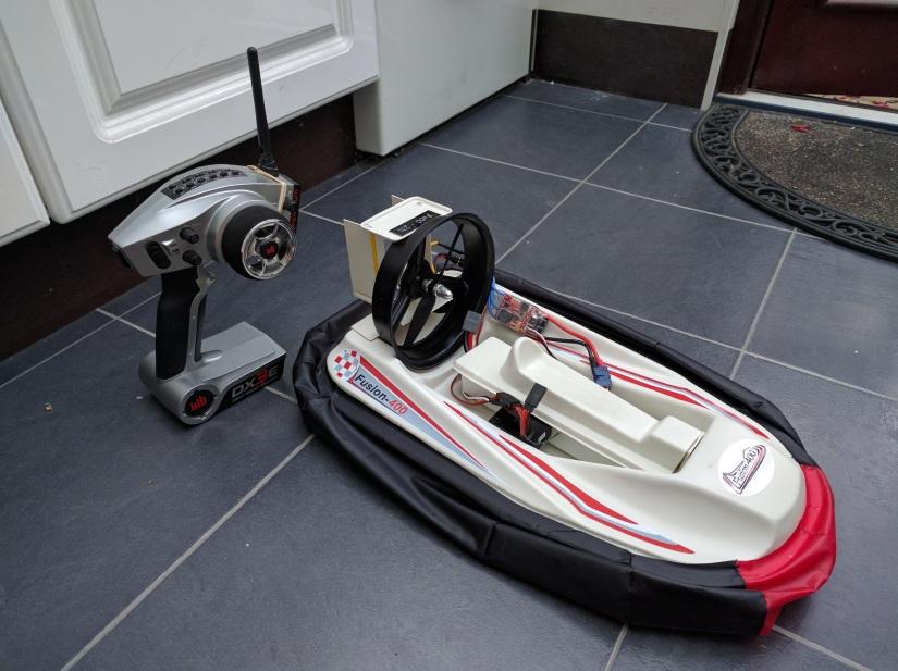 Fusion 400 HovercraftBuild