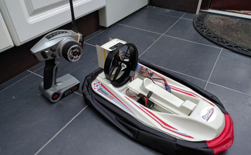 Fusion 400 Hovercraft Build