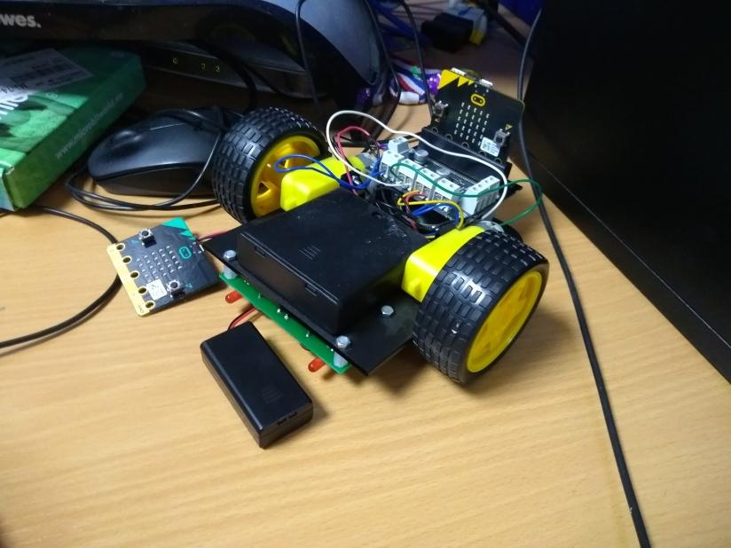 Micro:bit – Micro:bit Bluetoothrobot