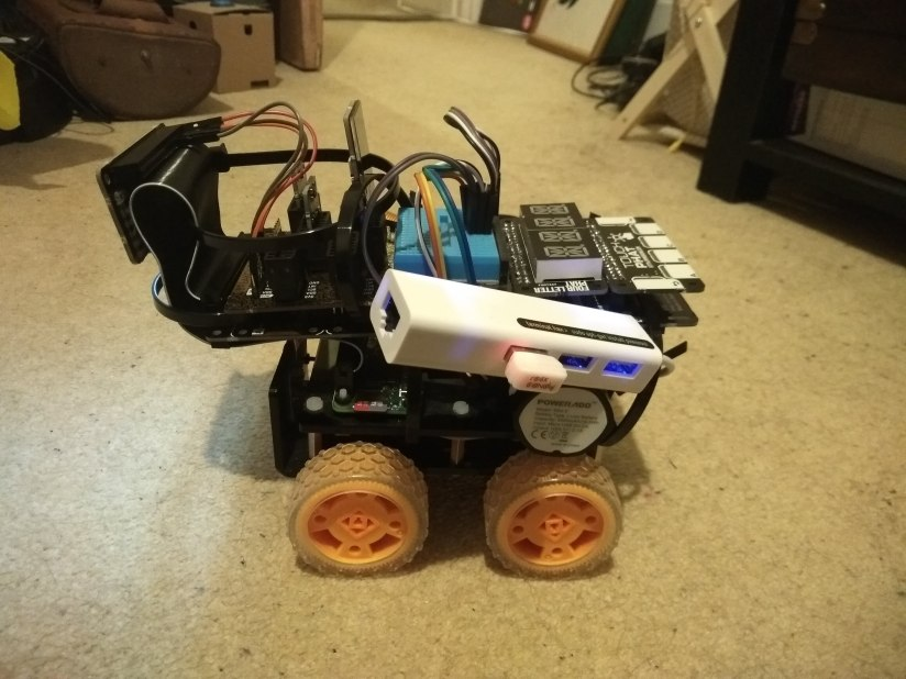 Raspberry PI Rover Upgrades
